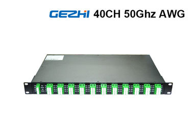 চীন 50Ghz 80 Channel DWDM Mux Demux Rack Module Duplex Fiber  ITU Grid Wavelength সরবরাহকারী