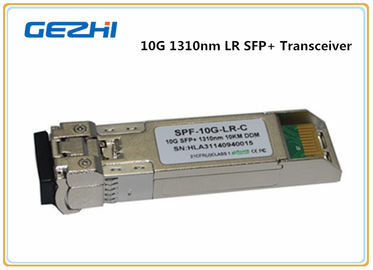 চীন 10km LR DDM 10G SFP+ Transceiver , LC optical fiber transceiver Compatible Cisco SFP-10G-LR সরবরাহকারী