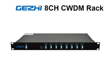 চীন 1RU Rack Chassis Wdm Fiber Optic Multiplexer LC/UPC Duplex For CATV Links কারখানা