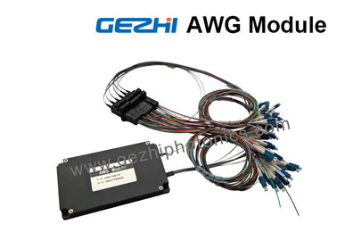 Dual 88-CH 50GHz Flat-Top AWG DWDM Mux Demux with 1% Tap Monitor