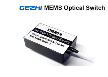 চীন Single Mode 1x8 MEMS Optical Switches Mini 850nm For DWDM networks কারখানা
