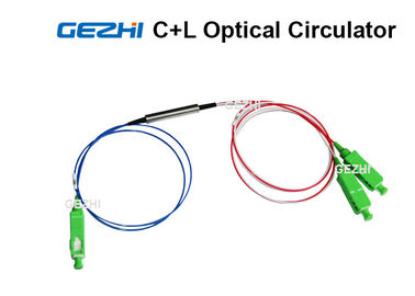 চীন 3 Ports C+L band Fiber Optical Circulator Polarization Insensitive Components কারখানা