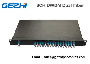 চীন 100Ghz Fiber Optical DWDM Mux Demux Module with 1U Plug-in Rackmount কারখানা