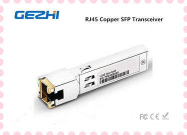 চীন RJ45 Copper SFP Transceiver Modules 378928-B21  For Gigabit Ethernet Applications কারখানা