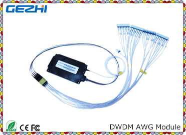 চীন Passive product DWDM Mux Demux 100G 40CH Arrayed Waveguide Grating for WDM Network পরিবেশক
