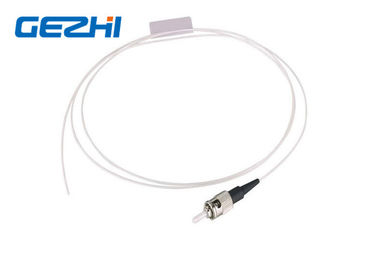 চীন ST UPC SM SX Fiber Optic Pigtail Single Mode Simplex White Cable for FTTB পরিবেশক