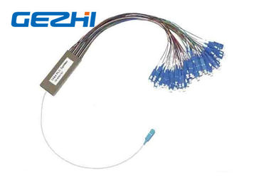 চীন OEM Fiber Optic PLC Splitter 1x64 1x128 2mm Cassette Type Fc Sc Lc St Connectors পরিবেশক